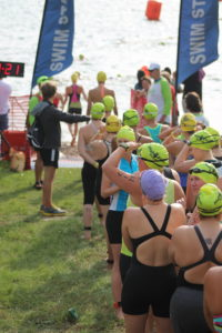 The Rookie Tri beginner triathlon swim start swim cap colors